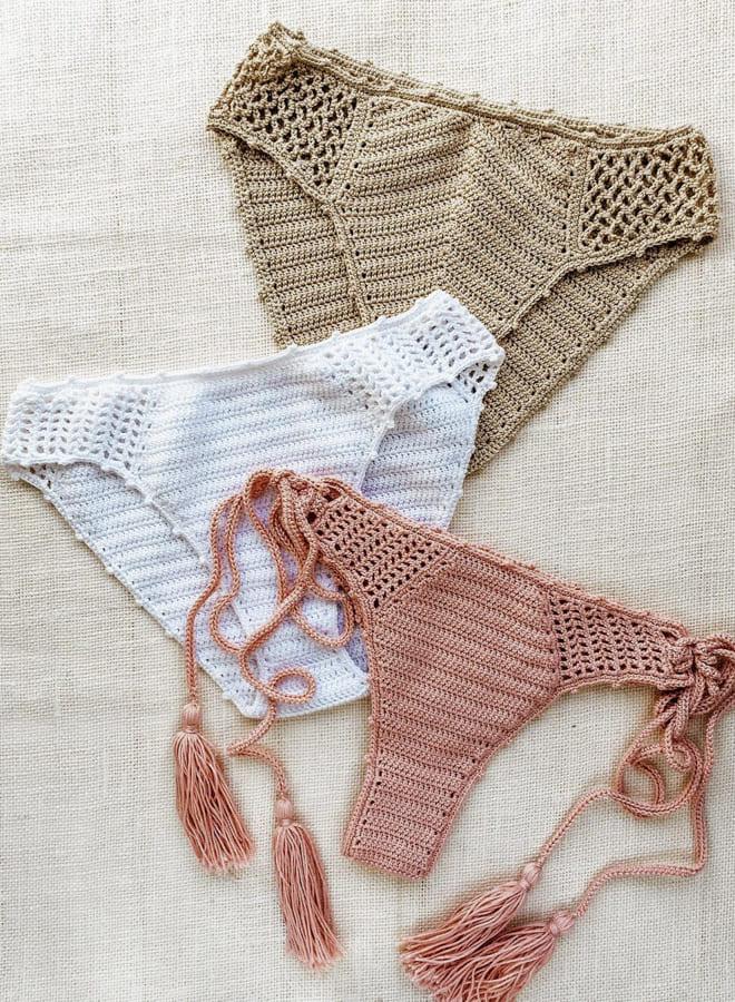 crochet bikini bottom