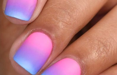 ombre-nails-design-ideas-and-combine-with-your-dresses