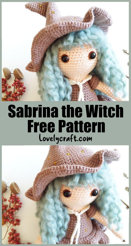 Sabrina free crochet amigurumi pattern