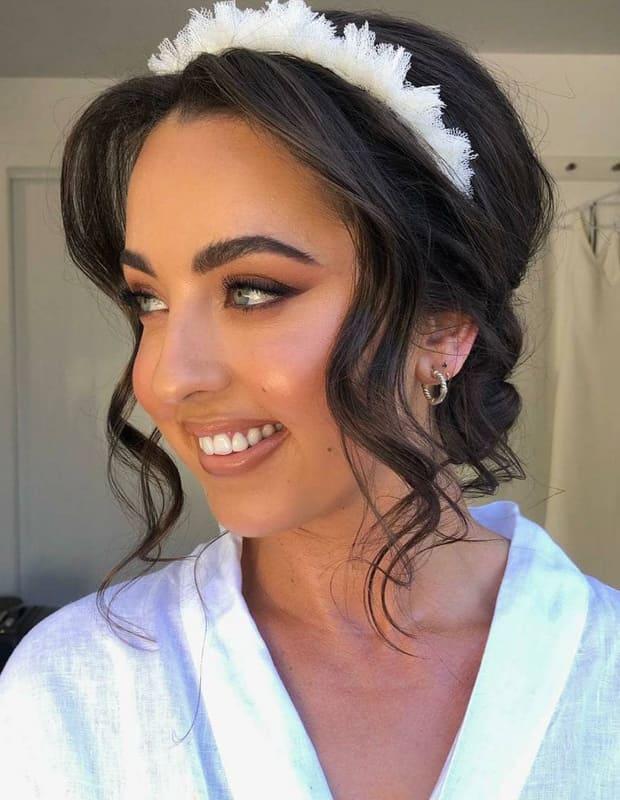 Long updo wedding hairstyles
