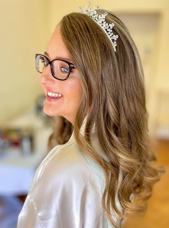 Long wedding easy hair