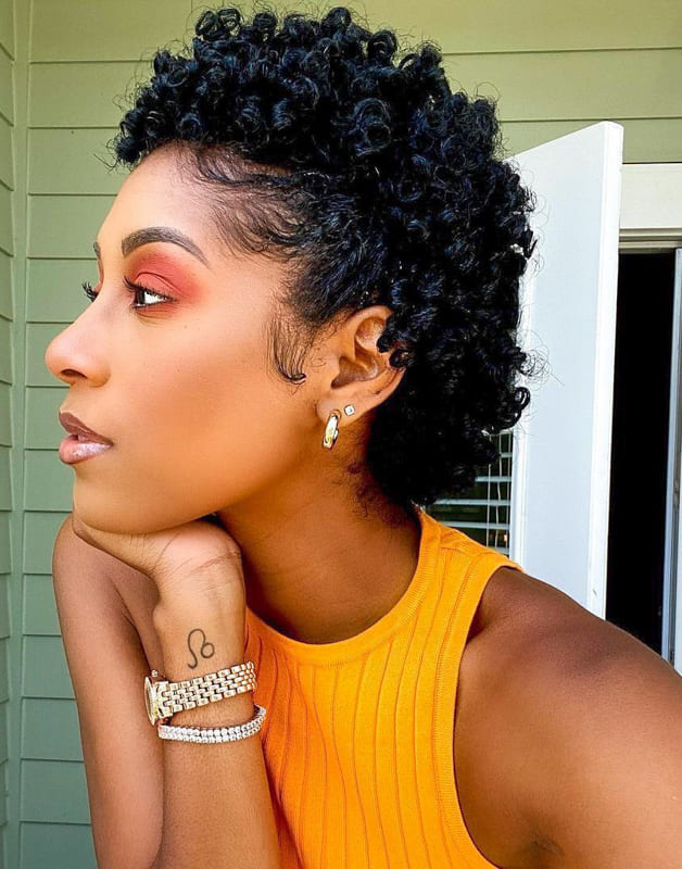 short curly hairstyles for black girls