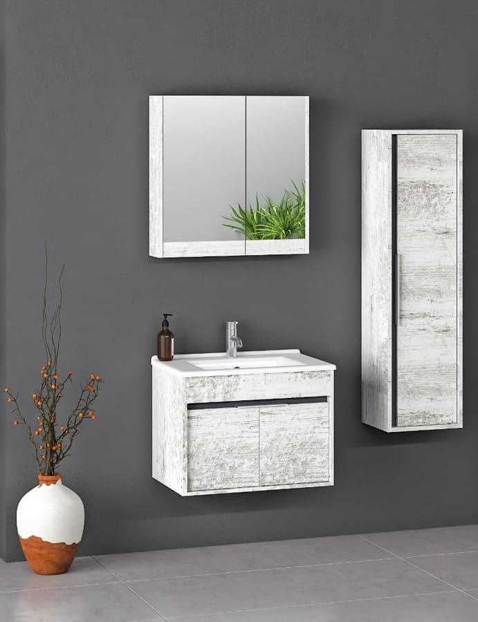 white bathroom furniture freestanding (2)