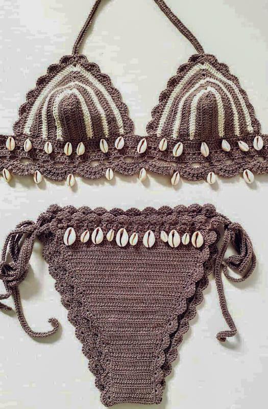 cute crochet biikini design ideas