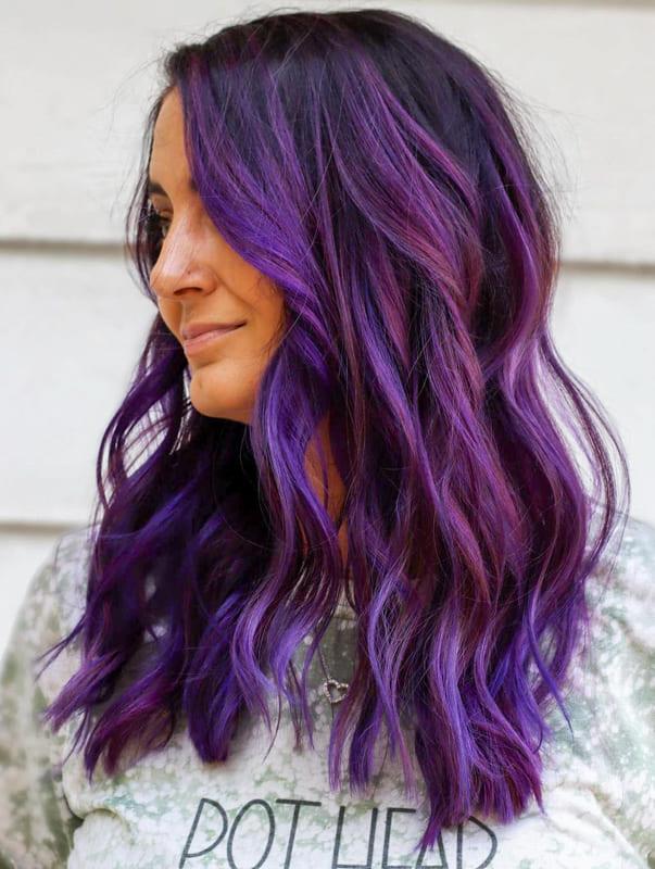 Cool Purple Hair Color Ideas for Women 2022 (1)