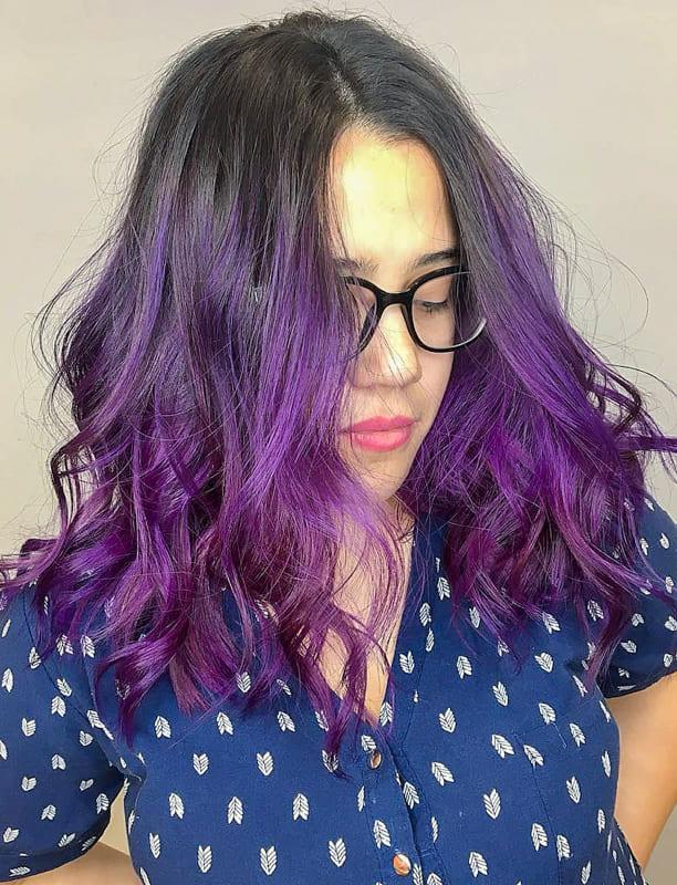 Cool Purple Hair Color Ideas for Women 2022 (3)