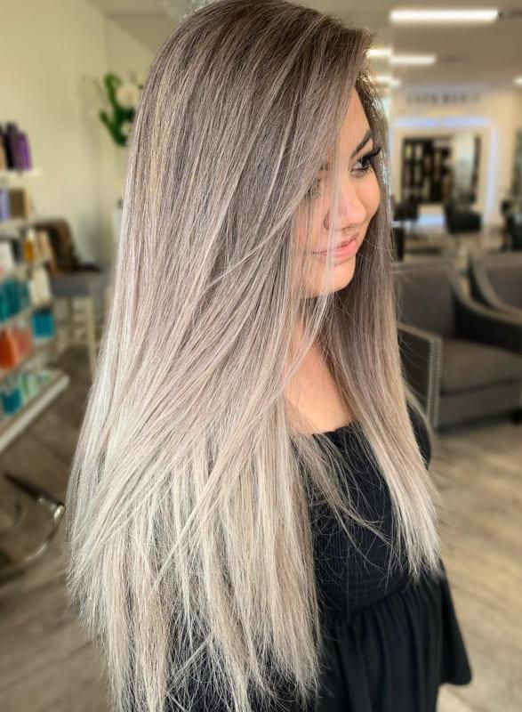Long Ash Blonde Hair Ideas for Women