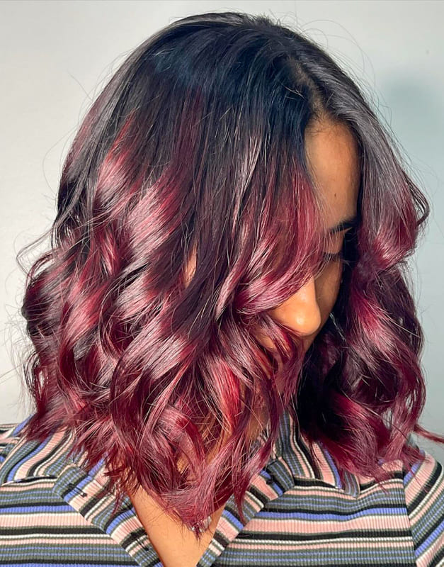 15 Awesome Burgundy Hair Colors and Ideas 2022 (1)