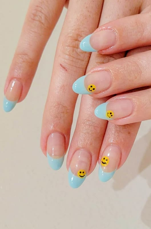 18 French Nails Design Ideas That will break the rules! (1)