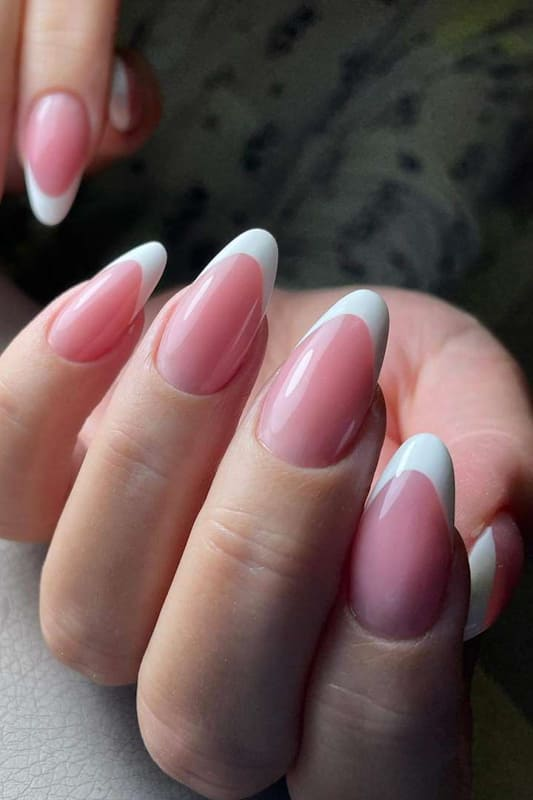 18 French Nails Design Ideas That will break the rules! (3)