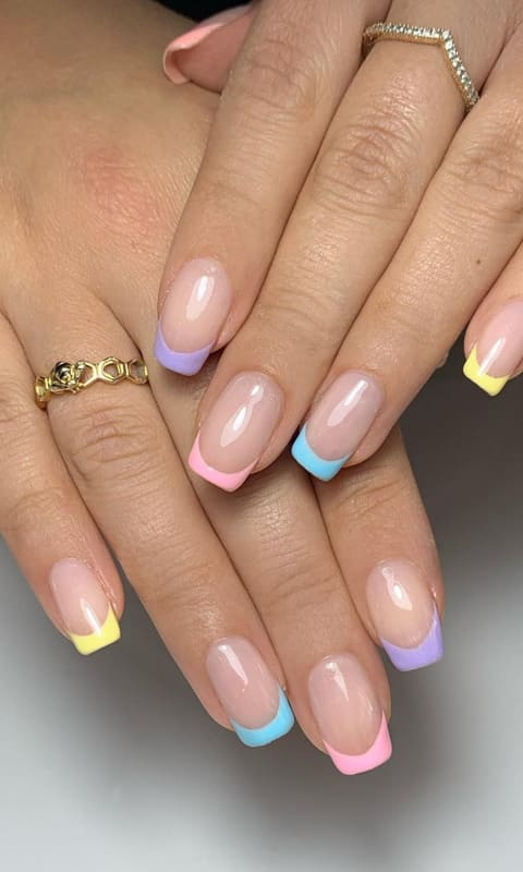 18 French Nails Design Ideas That will break the rules! (4)