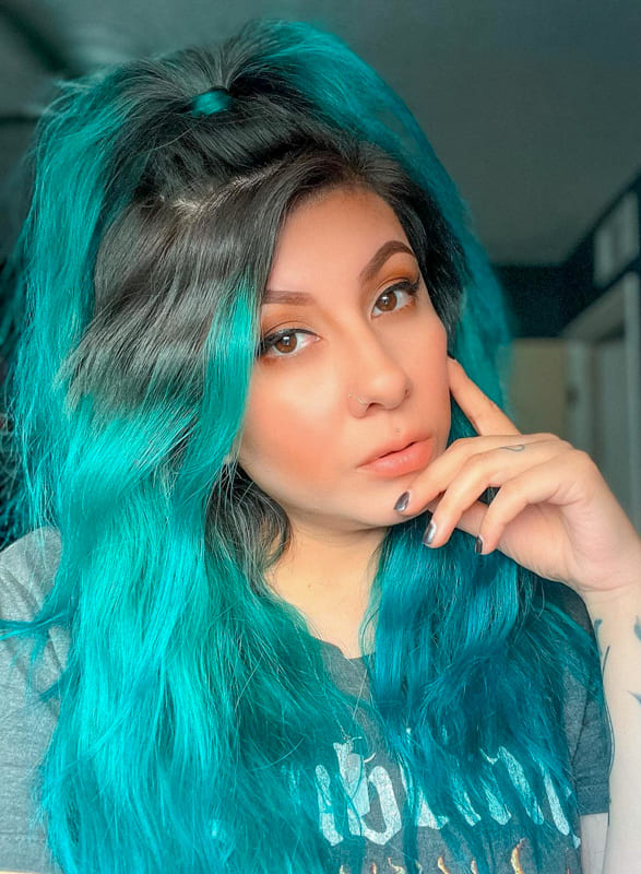 23 Best Teal Hair Color Ideas and Hairstyles 2022 (1)