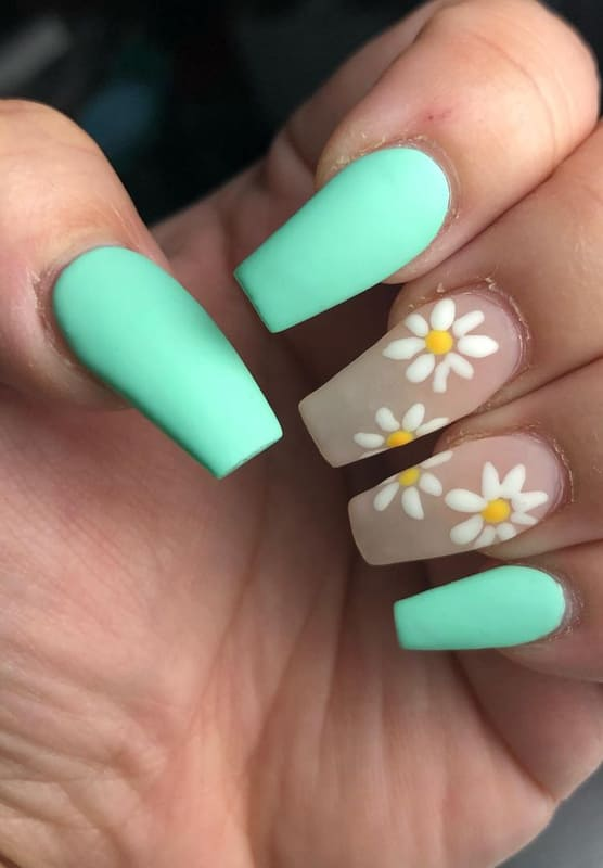 29 Beautiful Matte Nails Design Ideas and Colors 2022 (1)