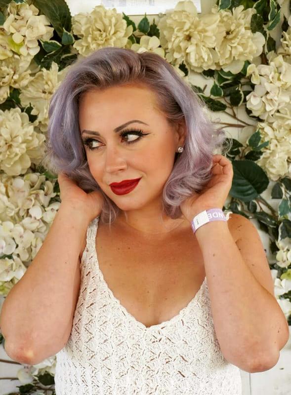 Over 45 Grey lavender hair