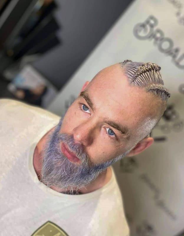 Viking braids for men