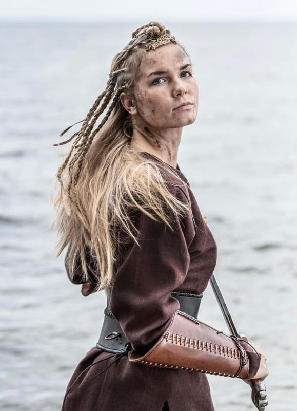 Viking braids for warrior women