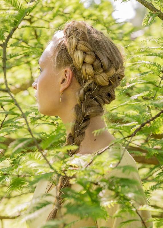 Viking braids for wedding