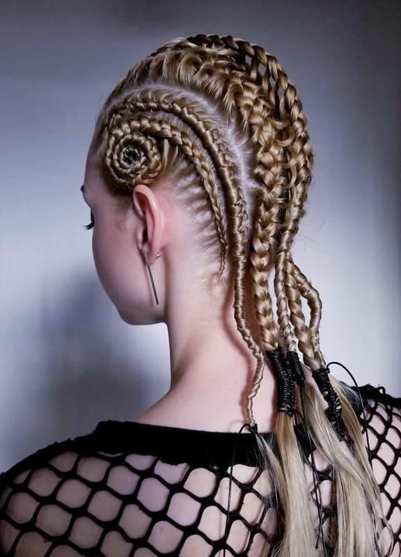 Viking braids for women 2