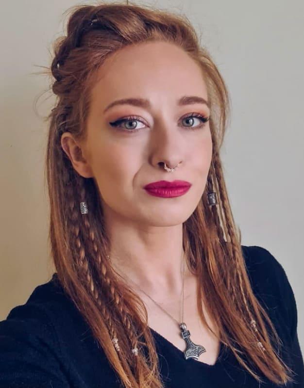 Viking braids for women