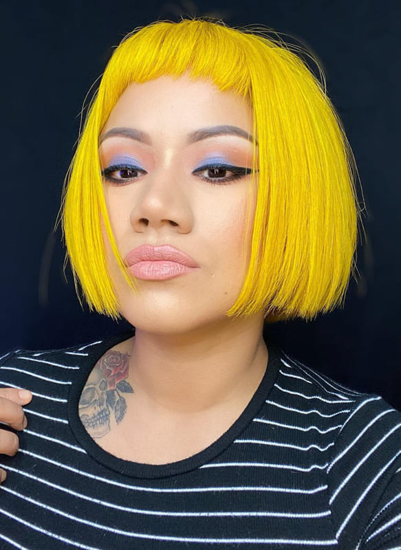 Yellow hair for african american women
